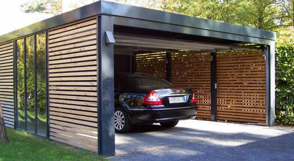 Carport With Garage Door Wageuzi