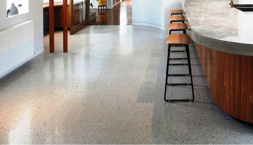 Epoxy Floor Coating Versus Polished Concrete   Southern Shores